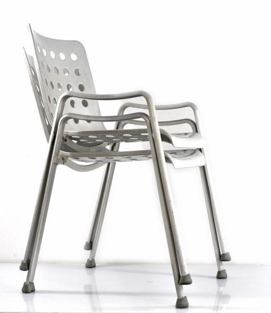 Landi aluminium chair Hans Coray MEWA 1938