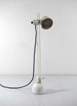 Industrial laboratory vintage desk lamp
