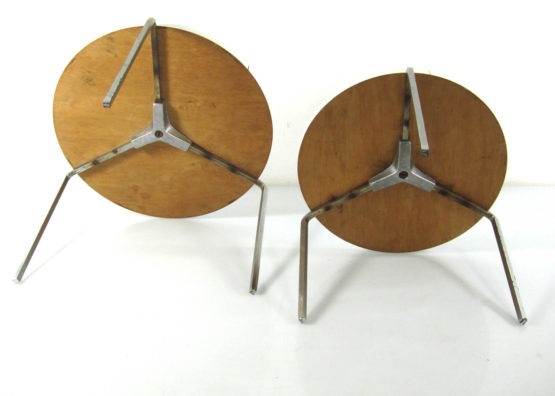 Sixties design round nesting tables