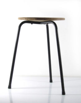 Vintage fifties sturdy studio stool