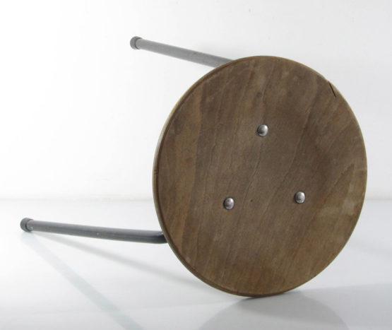 Vintage fifties sturdy studio stool