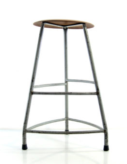 Industrial 60s studio workshop stool