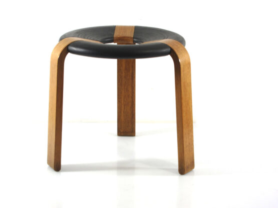 Vintage Stool by Rud Thygesen - Magnus Olesen plywood- scandinavian, danish, eames, poul cadovius, charlotte perriand, braakman, jean prouve