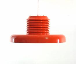 Ferarri red Hans Agne Jakobsson Mid century pendant