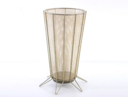 Fifties perforated metal umbrella stand - jaren vijftig, eames, mategot, biny, perriand, pilastro, poul cadovius, string, franco albini