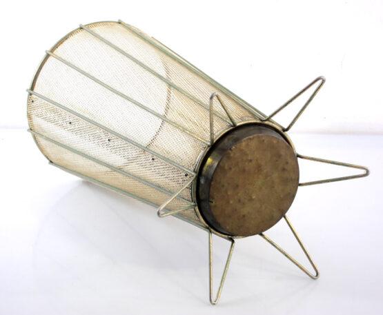 Fifties perforated metal umbrella stand - jaren vijftig, eames, mategot, biny, perriand, pilastro, poul cadovius, string, franco albini