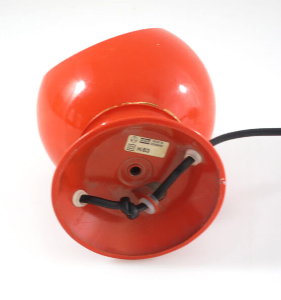 Abo Randers red magnet ball lamp