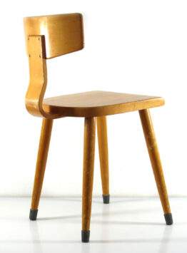 Fifties vintage plywood chair - Cor Alons, eames, alvar aalto, charlotte perriand, cees braakman, jean prouve