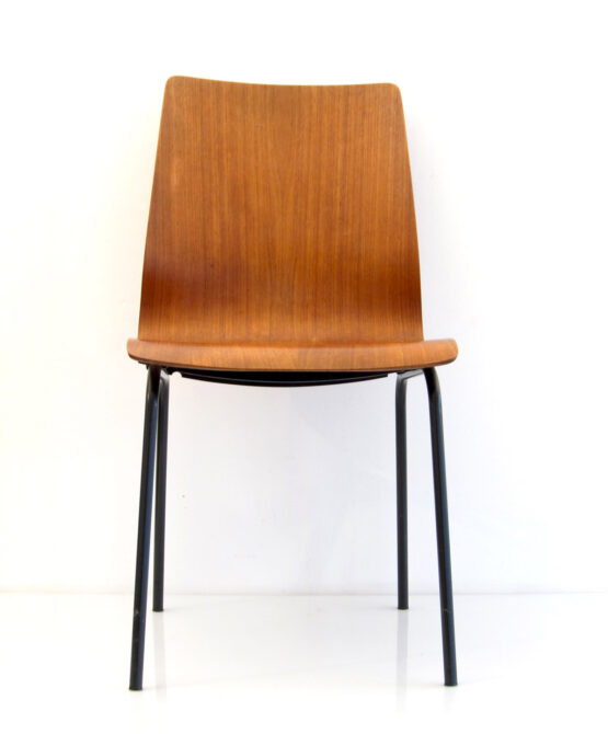Friso Kramer Auping retro teak plywood chair