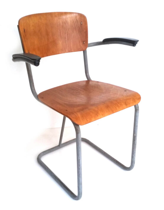 Dutch plywood vintage fourties chair