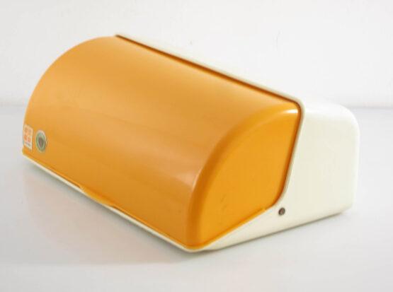 Seventies vintage Curver plastic bread bin