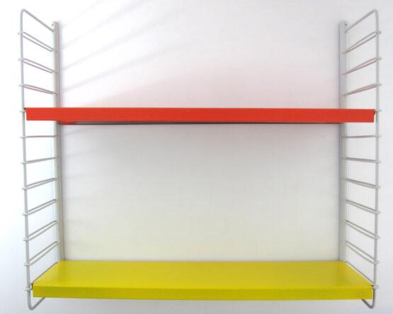 Vintage sixties Dutch wall shelf