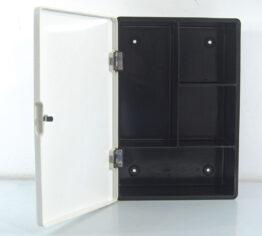 Small fifties melamine Bathroom cabinet