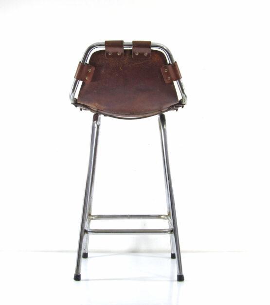 Charlotte Perriand Les Arcs bar stool - sixties, corbusier, guariche, eames, rietveld, cadovius, mategot, braakman, prouve, jacobsen, jouve