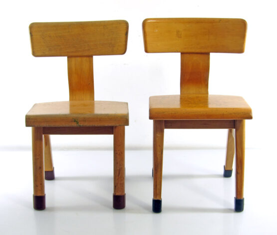 Plywood sixties vintage childrens chairs - eames, grete jalk, hans wegner, friso kramer, finn juhl, alvar aalto