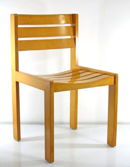 Wilkhahn Wooden Design Chair
