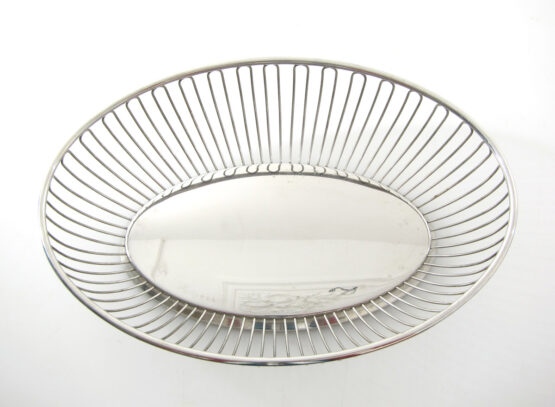 Alfra Alessi 1960s vintage steel bowl - joe colombo, sarfatti, gae aulenti, gio ponti, enzo mari, ettore sottsass, franco albini, memphis