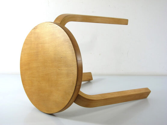 Alvar Aalto - Artek vintage plywood stool - scandinavian, olesen, danish, eames, poul cadovius, charlotte perriand, braakman, jean prouve