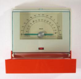 KRUPS red vintage 1970s kitchen scale - Braun, Dieter Rams, Sarfatti, Sottsass, Olivetti, Colombo, Bang Olufsen, Jacob Jensen, Munari, Mari