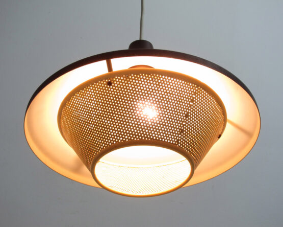 Louis Kalff Mid century hanging lamp for Philips - Weisdorf, Eames, Danish, Carl Thore, Tynell, Fog Morup, Poulsen, Henningsen, Mategot