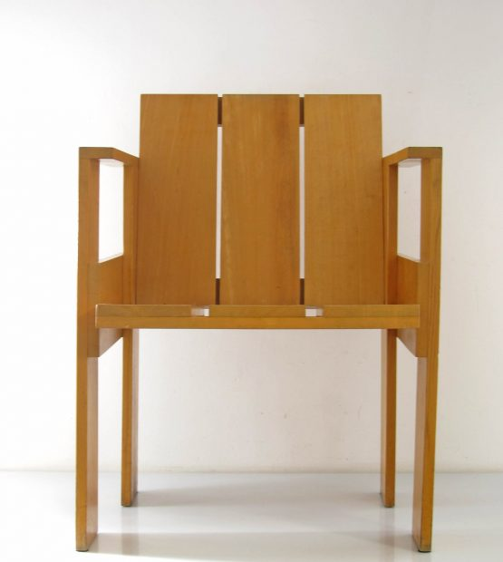 Gerrit Rietveld - Cassina crate chair; Friso Kramer, Alvar Aalto, Jean Prouve, Charlotte, Perriand, Le Corbusier, Ahrend, Plywood, Mategot