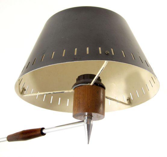 Philips style vintage teak wall lamp - sixties mathieu mategot, prouve, jacques biny, serge mouille, fog morup, arne jacobsen, henningsen