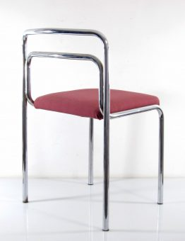 Seventies chrome vintage chairs - fifties, sixties, gae aulenti, eames, rietveld, cadovius, corbusier, braakman, jean prouve, arne jacobsen