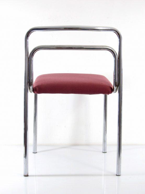 Seventies chrome vintage chairs - fifties, sixties, gae aulenti, eames, rietveld, cadovius, corbusier, braakman, jean prouve, arne jacobsen
