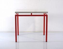 Sixties vintage Braakman design side table - Wim Rietveld, Alvar Aalto, Jean Prouve, Charlotte Perriand, Le Corbusier, Friso Kramer, Mategot